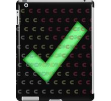 Nerd Check c# iPad Case/Skin