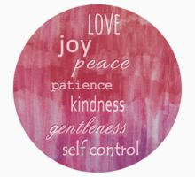 Inspirational Text on Pink Watercolor Abstract One Piece - Long Sleeve
