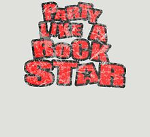 Party like a Rock Star Womens Fitted T-Shirt