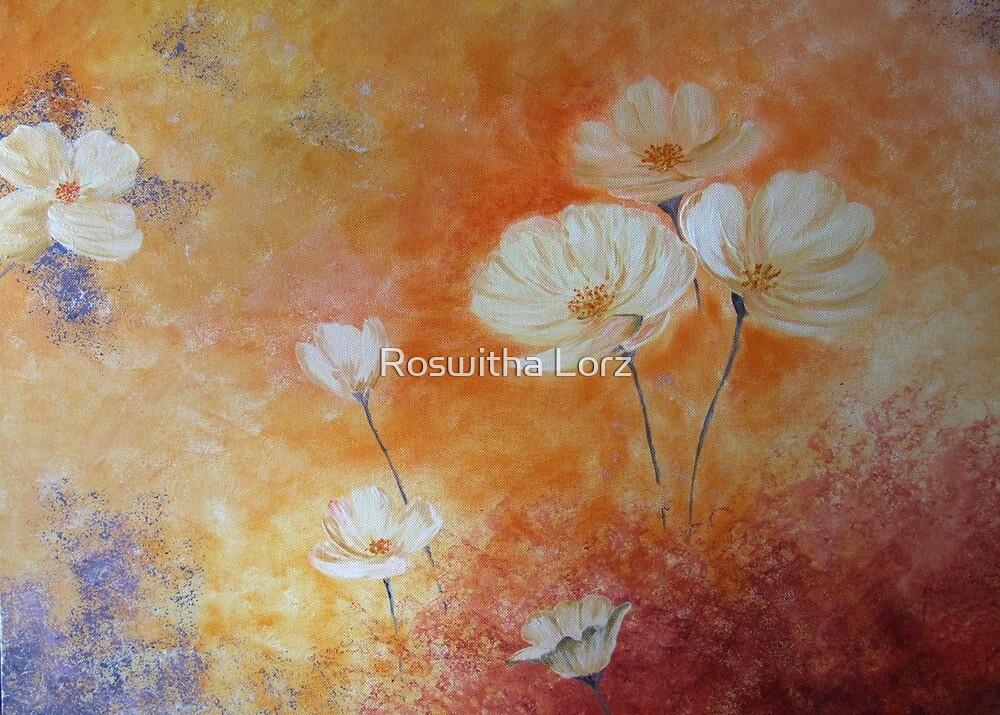 WhiteFlower by RosiLorz