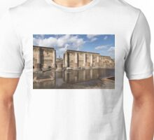 Pompeii - the Ancient Basilica Reflected Unisex T-Shirt