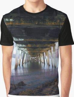 Grange Jetty: One Autumn night  Graphic T-Shirt