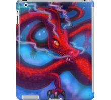 Red Dragon on a Starry Night Sky iPad Case/Skin
