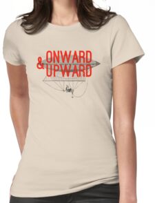 Onward And Upward Womens Fitted T-Shirt