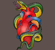 Snake and Heart color Unisex T-Shirt