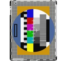 Test Pattern iPad Case/Skin