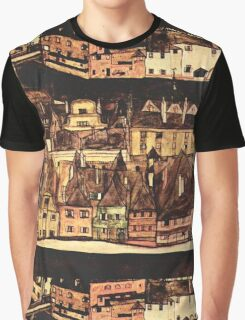 Egon Schiele Row of houses Graphic T-Shirt