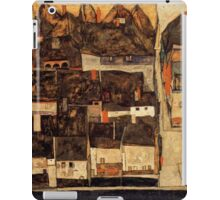 Egon Schiele Town from above iPad Case/Skin
