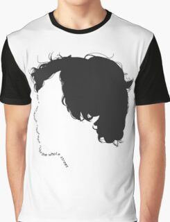 "Sherlock quote typography ""don't talk out loud"" Graphic T-Shirt"
