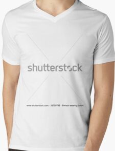 Shutterstock t-shirt Mens V-Neck T-Shirt