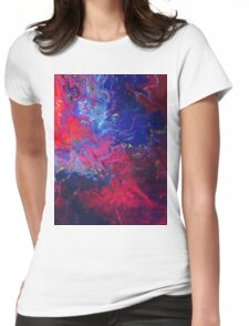 Abstract 55 Womens Fitted T-Shirt