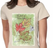 The Art of Reverence Womens Fitted T-Shirt