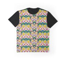 Transparent Lilies Ochra Graphic T-Shirt