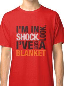 Sherlock blanket quote typography Classic T-Shirt
