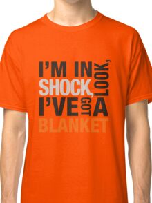 Sherlock blanket quote typography Classic T-Shirt