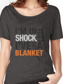 Sherlock blanket quote typography Women's Relaxed Fit T-Shirt