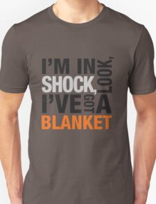 Sherlock blanket quote typography Unisex T-Shirt