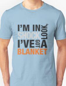 Sherlock blanket quote typography Unisex T-Shirt