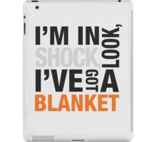 Sherlock blanket quote typography iPad Case/Skin