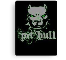 PitBull - Pit Bull Zombie Canvas Print