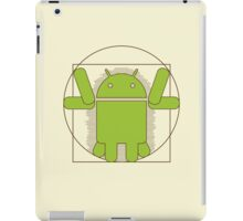 Vitruvian Android iPad Case/Skin