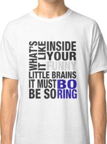 Sherlock quote typography Classic T-Shirt
