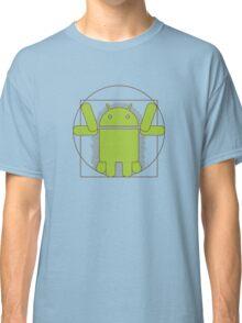 Vitruvian Android Classic T-Shirt