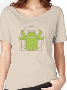 Vitruvian Android Women's Relaxed Fit T-Shirt