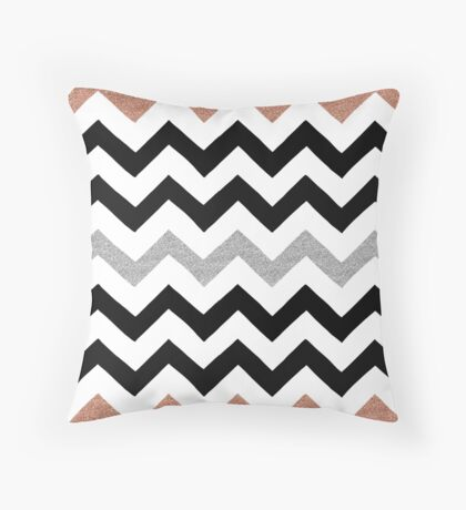 Lost inside the lines Throw Pillow