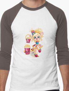 Shopkins Shoppies Poppette Men's Baseball ¾ T-Shirt