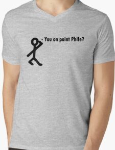 You on point phife? Mens V-Neck T-Shirt
