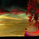 Flaming Sunset by Igor Zenin