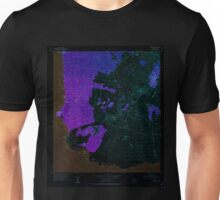 USGS TOPO Map Hawaii HI Makena 349562 1954 24000 Inverted Unisex T-Shirt
