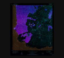USGS TOPO Map Hawaii HI Makena 349562 1954 24000 Inverted Unisex T-Shirt