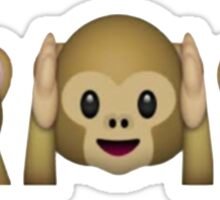Monkey emojis Sticker