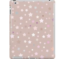 stars on beige background iPad Case/Skin