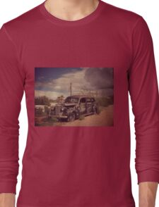 Dusty Old Hearse Long Sleeve T-Shirt