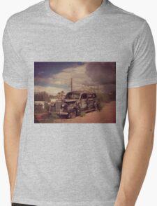 Dusty Old Hearse Mens V-Neck T-Shirt