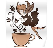 Coffee fairy Poster