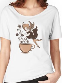 Coffee fairy Women's Relaxed Fit T-Shirt