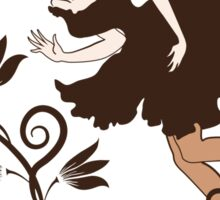Coffee fairy Sticker