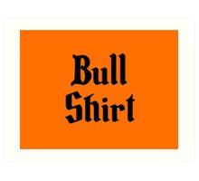 Bull Shirt – Lenny, The Simpsons, '70s Art Print