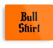 Bull Shirt – Lenny, The Simpsons, '70s Metal Print