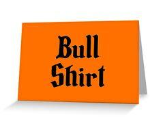 Bull Shirt – Lenny, The Simpsons, '70s Greeting Card