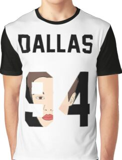 "Cameron ""Face"" Jersey Graphic T-Shirt"