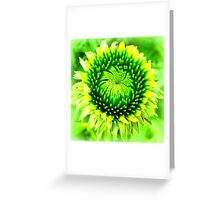 Perfect symmetry Greeting Card