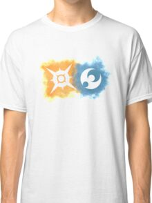 Pokemon Sun and Moon logos Classic T-Shirt