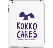 Kokko cares! V. 1 iPad Case/Skin