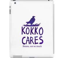 Kokko cares! V. 2 iPad Case/Skin