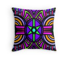 psychedelia #3 Throw Pillow